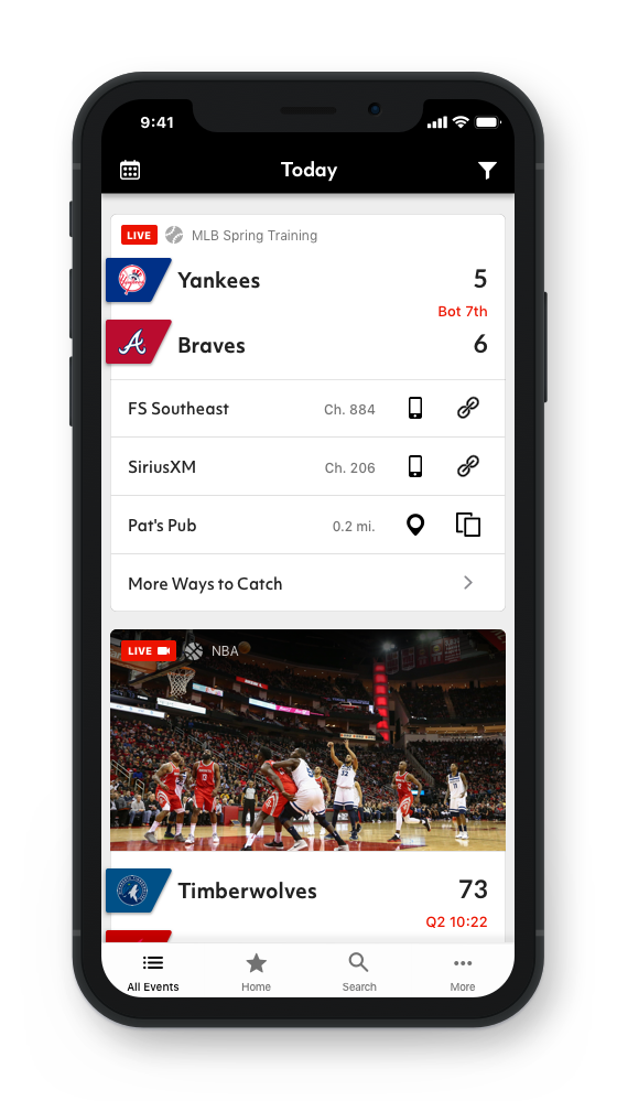 Turner's new sports streaming service, Bleacher Report Live, will