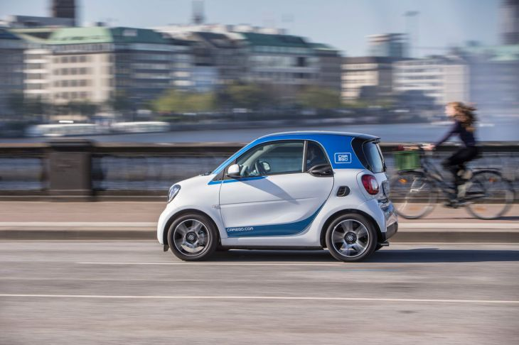 Daimler Buys Remaining 25 Stake Of Car Sharing Startup Car2go From