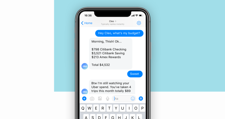 Cleo, the chatbot that wants to replace your banking apps