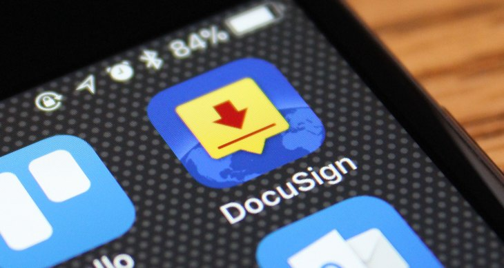 DocuSign raises $629 million after pricing IPO docusign ios icon