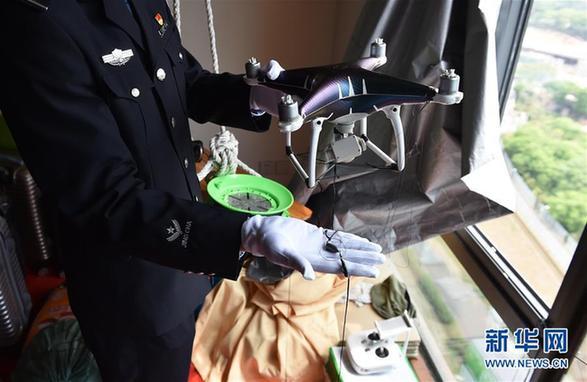 Chinese police foil drone-flying phone smugglers at Hong Kong border