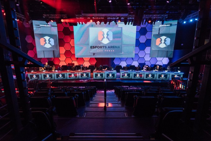 The Las Vegas strip's first legit esports arena just opened for business