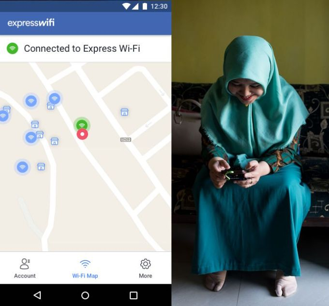 facebook express wifi indonesia - Facebook launches Express Wi-Fi app for its local-operated hotspots