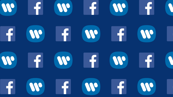 Facebook and Warner Music ink recorded and published music