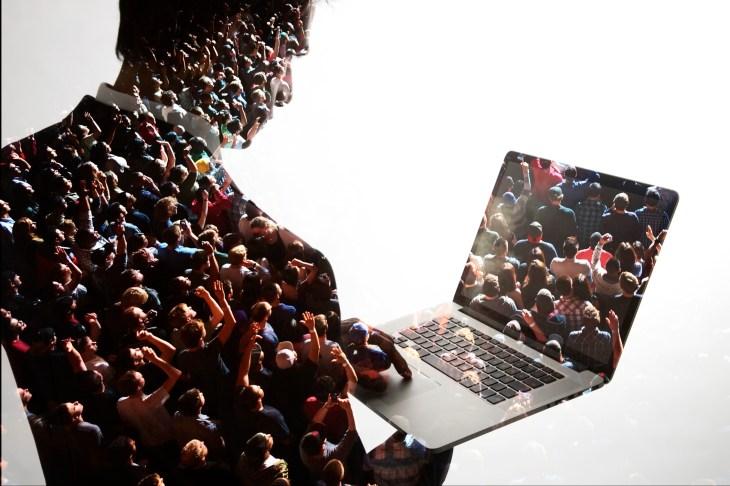 business, communication, digital, crowd, audience,