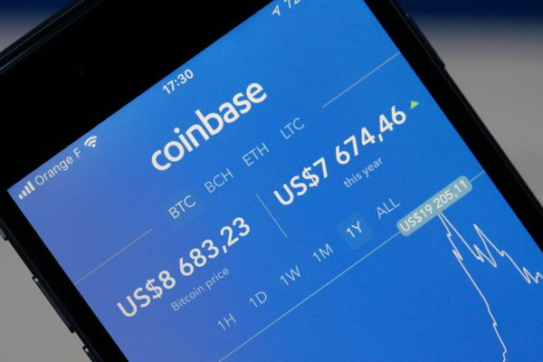 Coinbase reportedly gets...