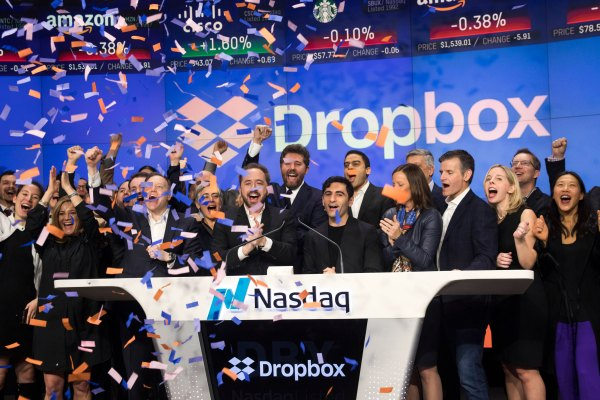 Dropbox ipo date when