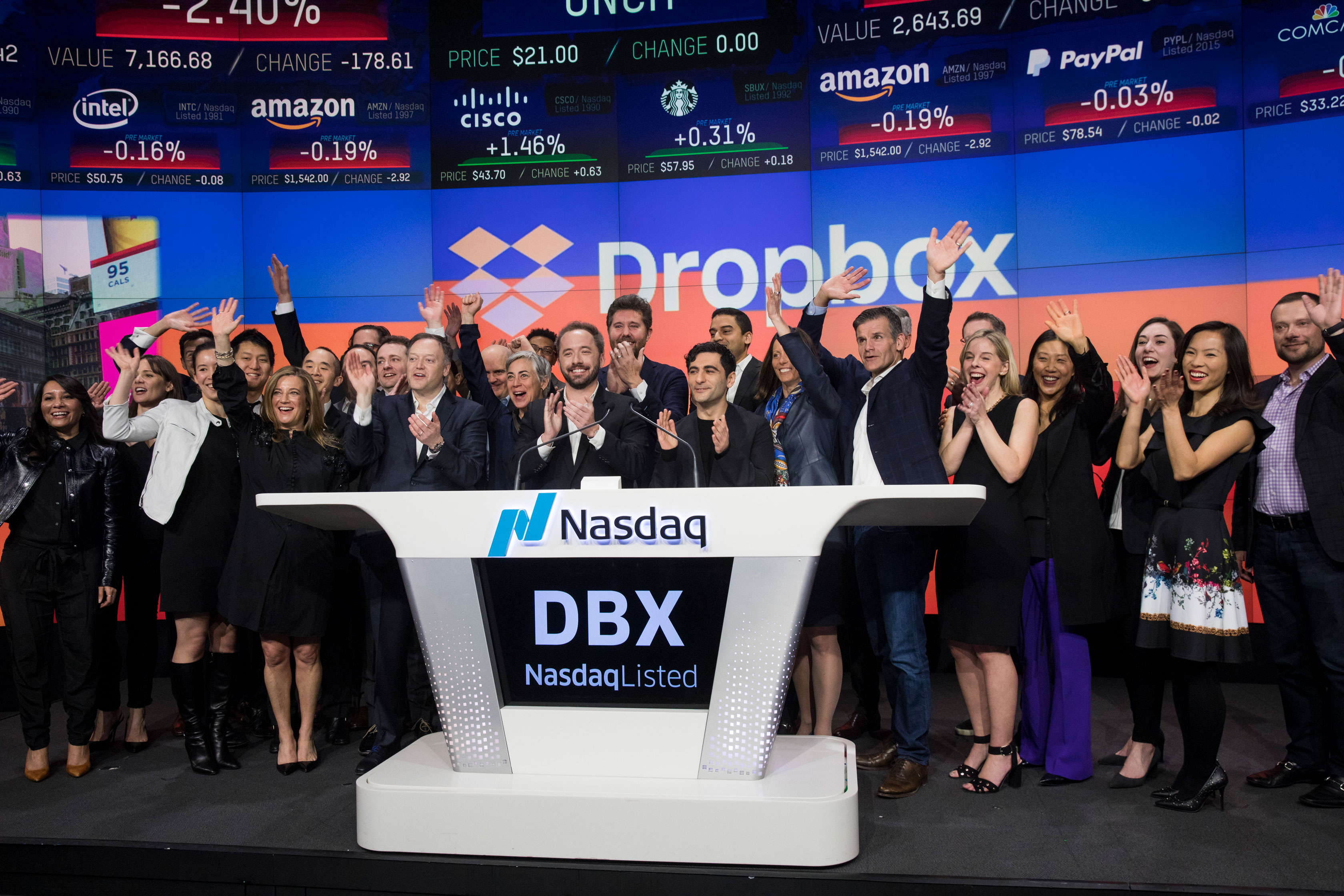 Dropbox up another 7 on day two techcrunch biocorpaavc Image collections