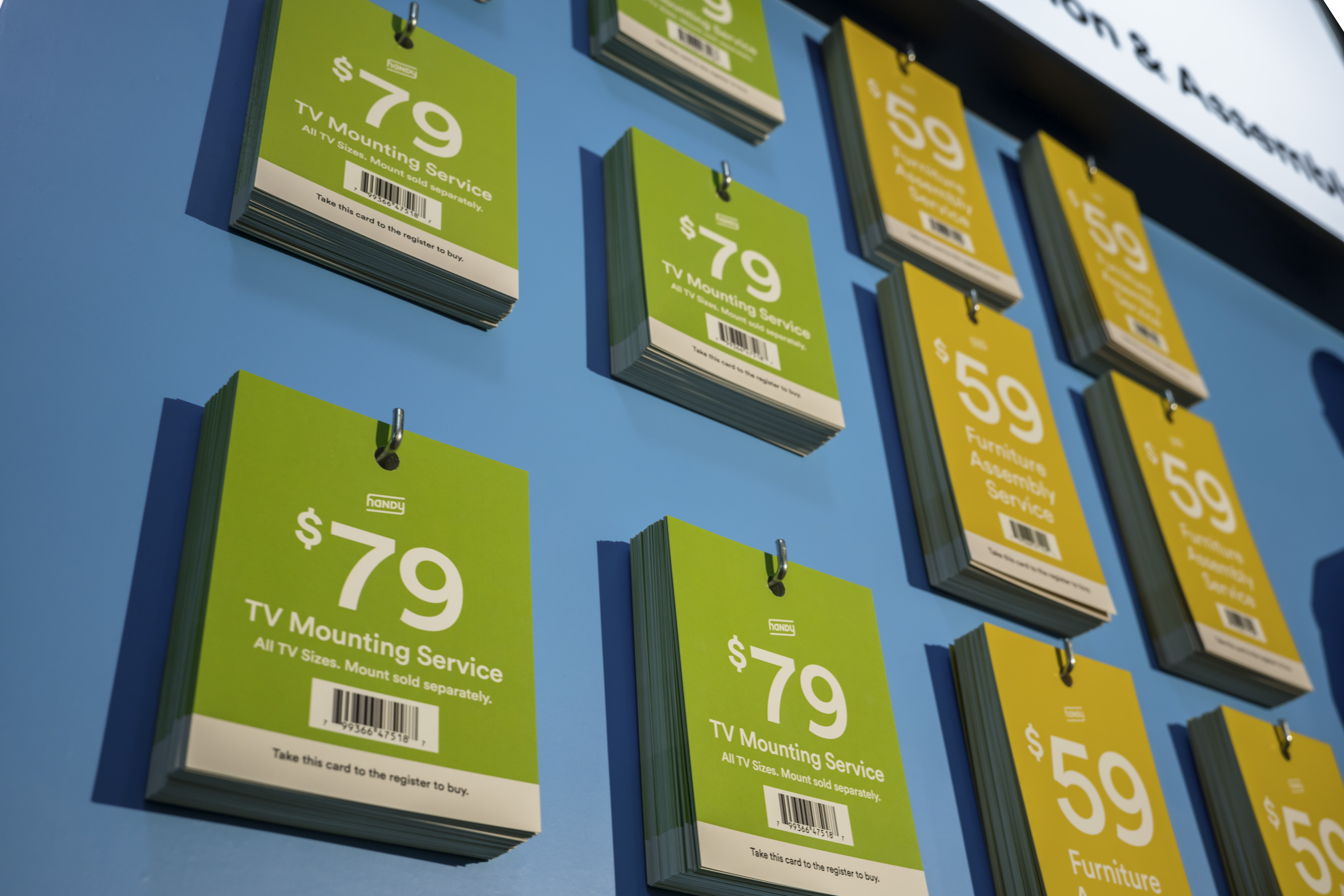 Walmart To Sell Handy S In Home Installation And Assembly Services In Over 2 000 Stores Techcrunch