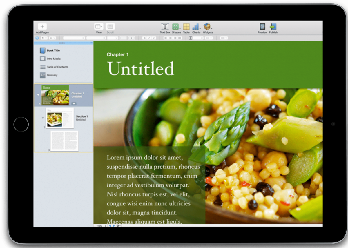 Apple doubles down on book creation with iPad app | TechCrunch