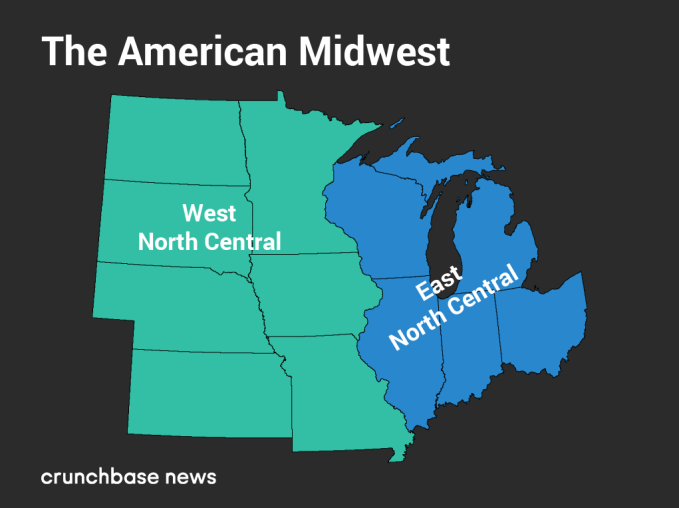 Here are the top Midwestern states and cities for startups