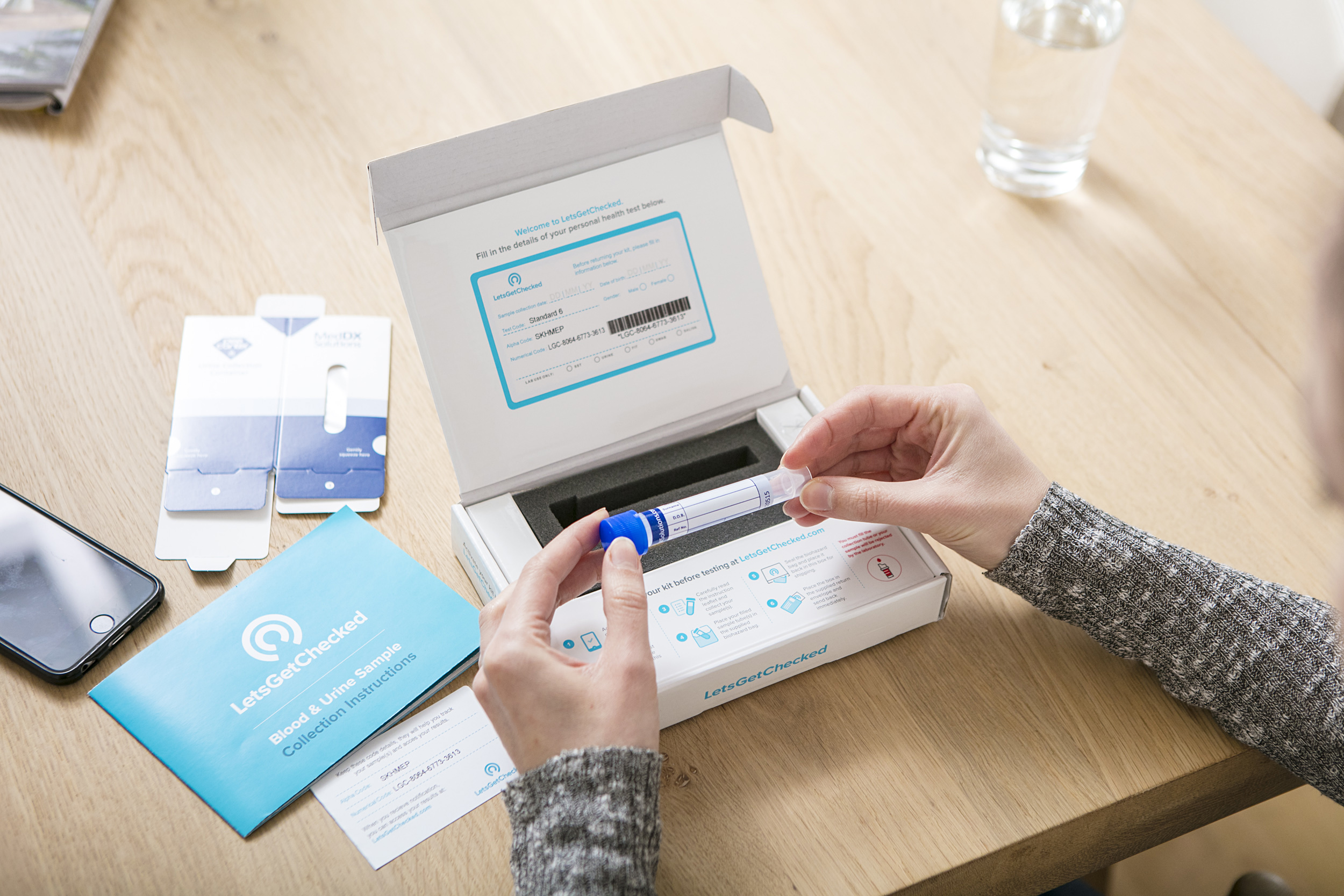 Letsgetchecked Raises 12m For Its Personal Health Tests Techcrunch