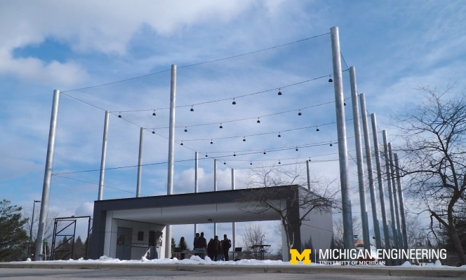 College of Michigan opens up its M-Air UAV testing facility to college students 1