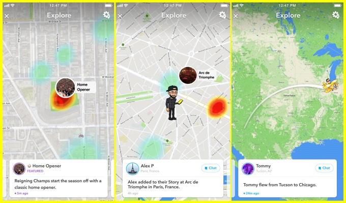 Snapchat's new feature is aiming to turn Snap Map into a next-gen newsfeed