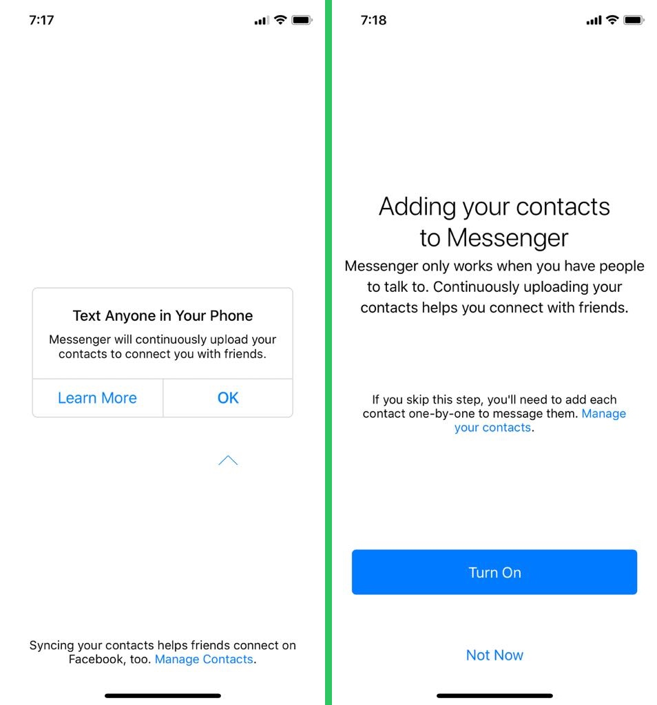 messenger permissions - Facebook knows literally everything about you – TechCrunch