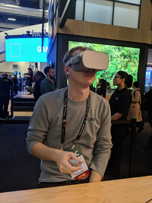 First impressions of the $199 Oculus Go VR headset