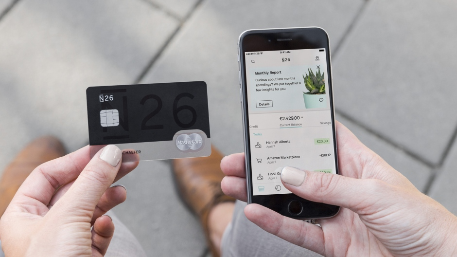 N26 Raises 160 Million From Tencent And Allianz Techcrunch