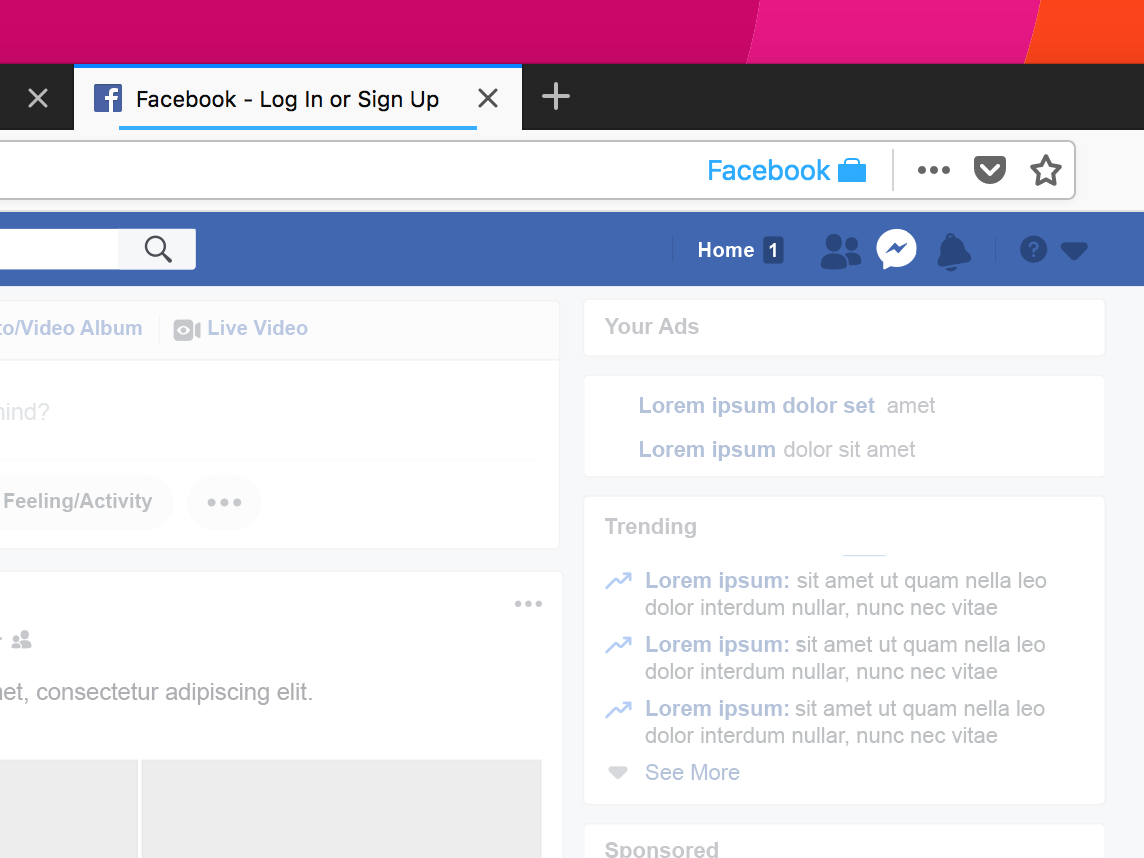 Firefox has a clever workaround for Facebook users anxious about privacy