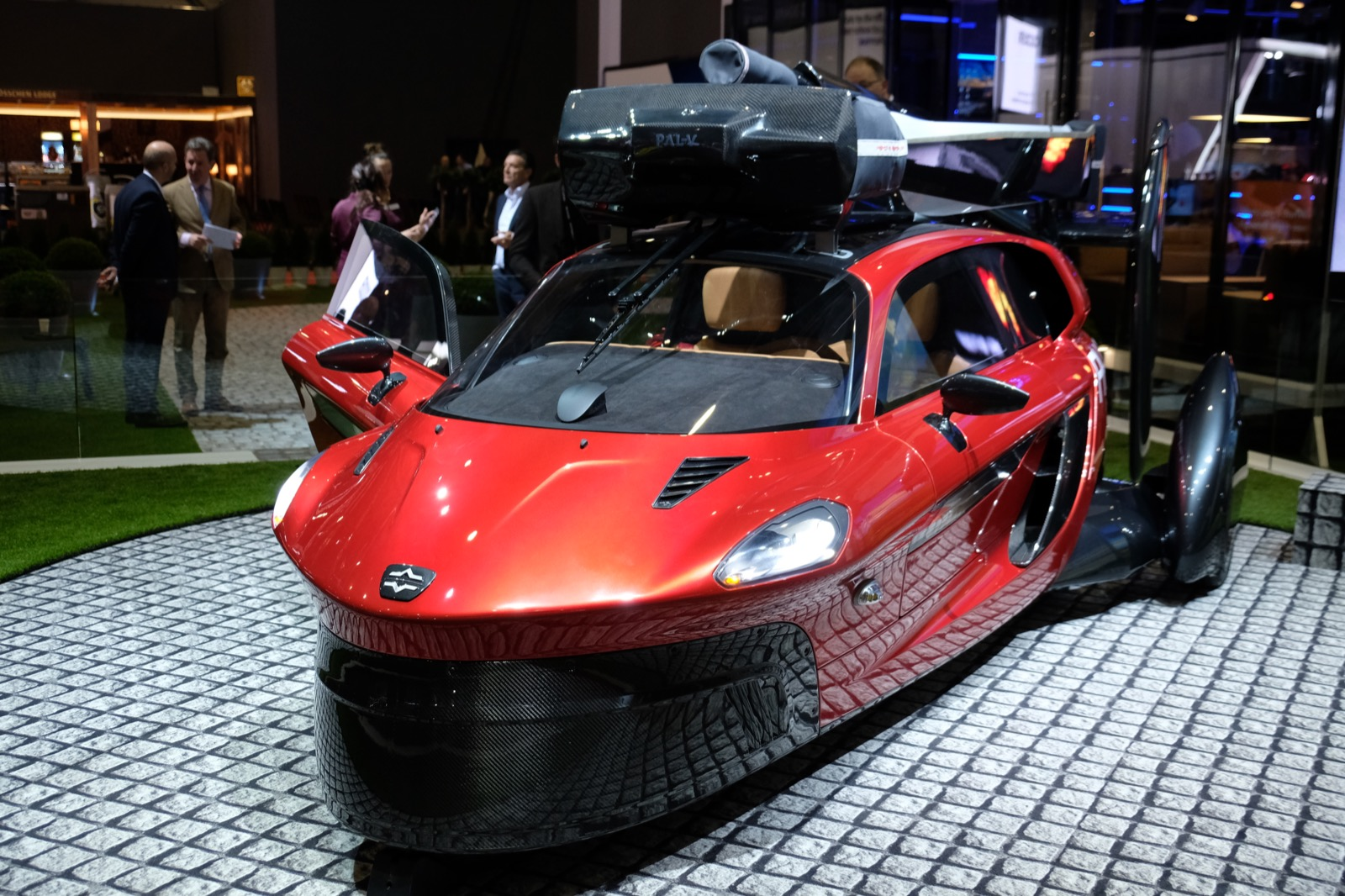 Take a look at the production version of the PAL-V Liberty flying car |  TechCrunch