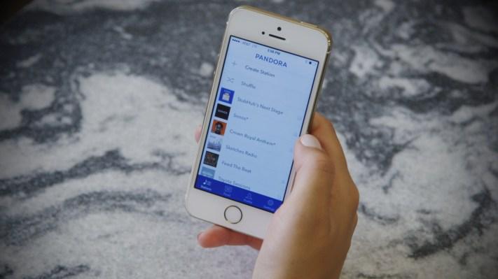 Pandora app ios