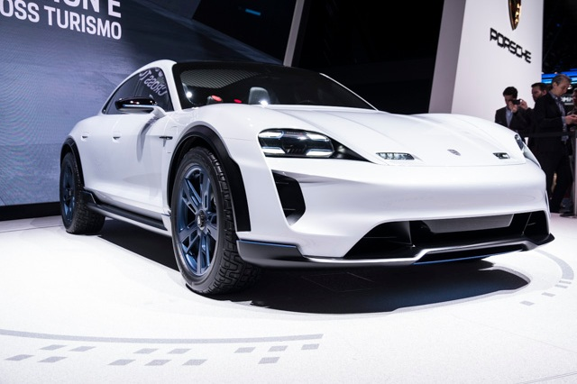 Porsche Mission E Taycan