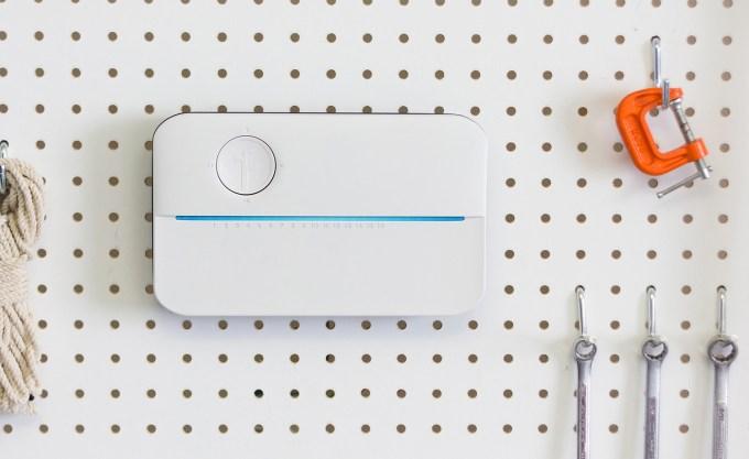 Rachio announces a new smart sprinkler controller, raises $10M