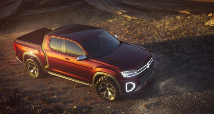 Volkswagen Debuted A Concept Pickup Truck At The New York Auto Show This Week And Atlas Based Design Features Short Bed On Vw S Mqb