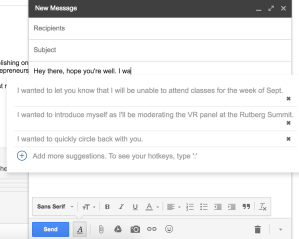 EasyEmail is autocomplete for Gmail