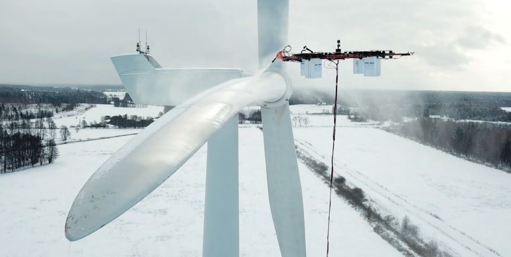 Aerones Makes Really Big Drones for Cleaning Turbines and Saving Lives