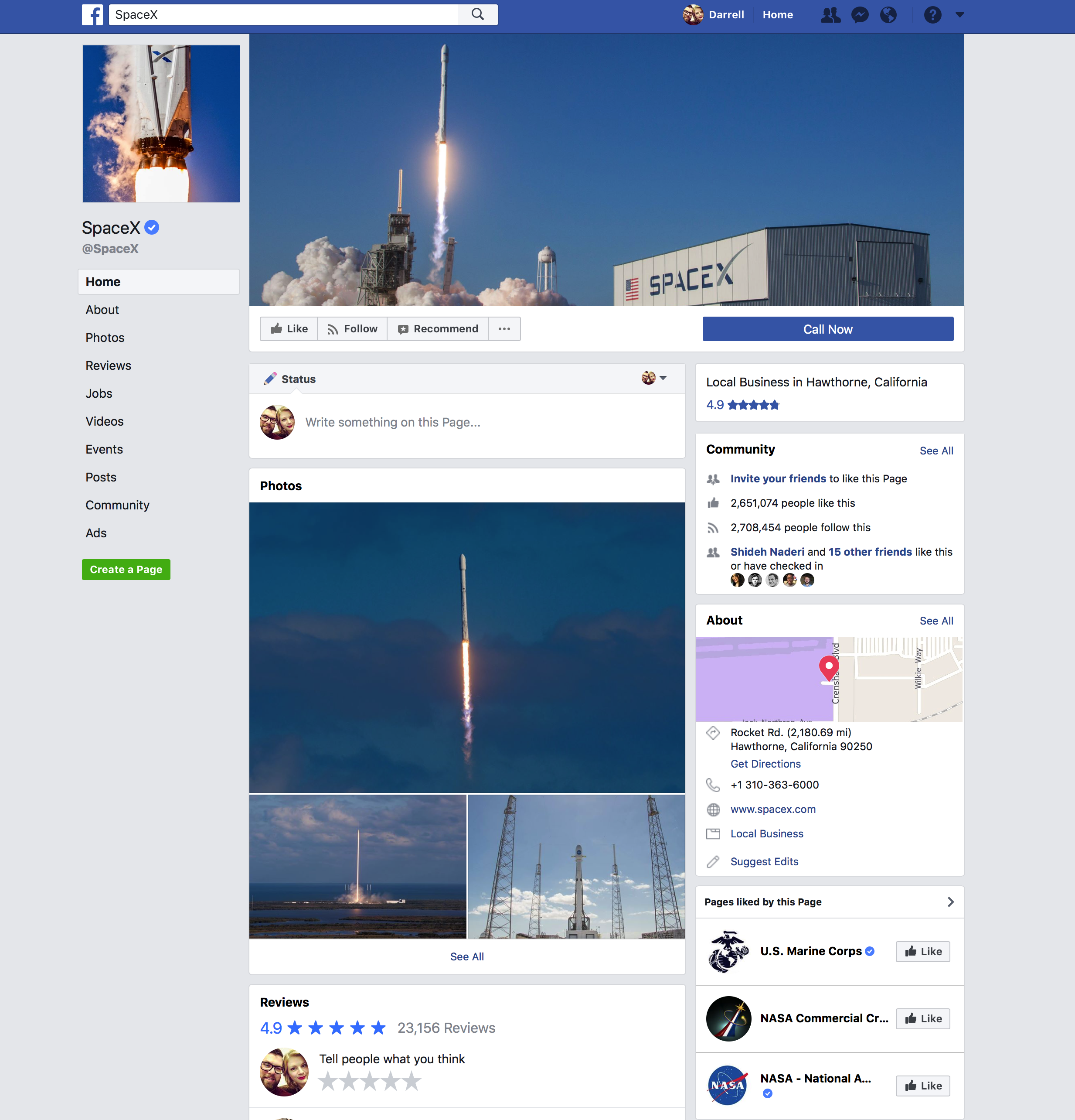 Elon Musk deletes own, SpaceX and Tesla Facebook pages after #deletefacebook