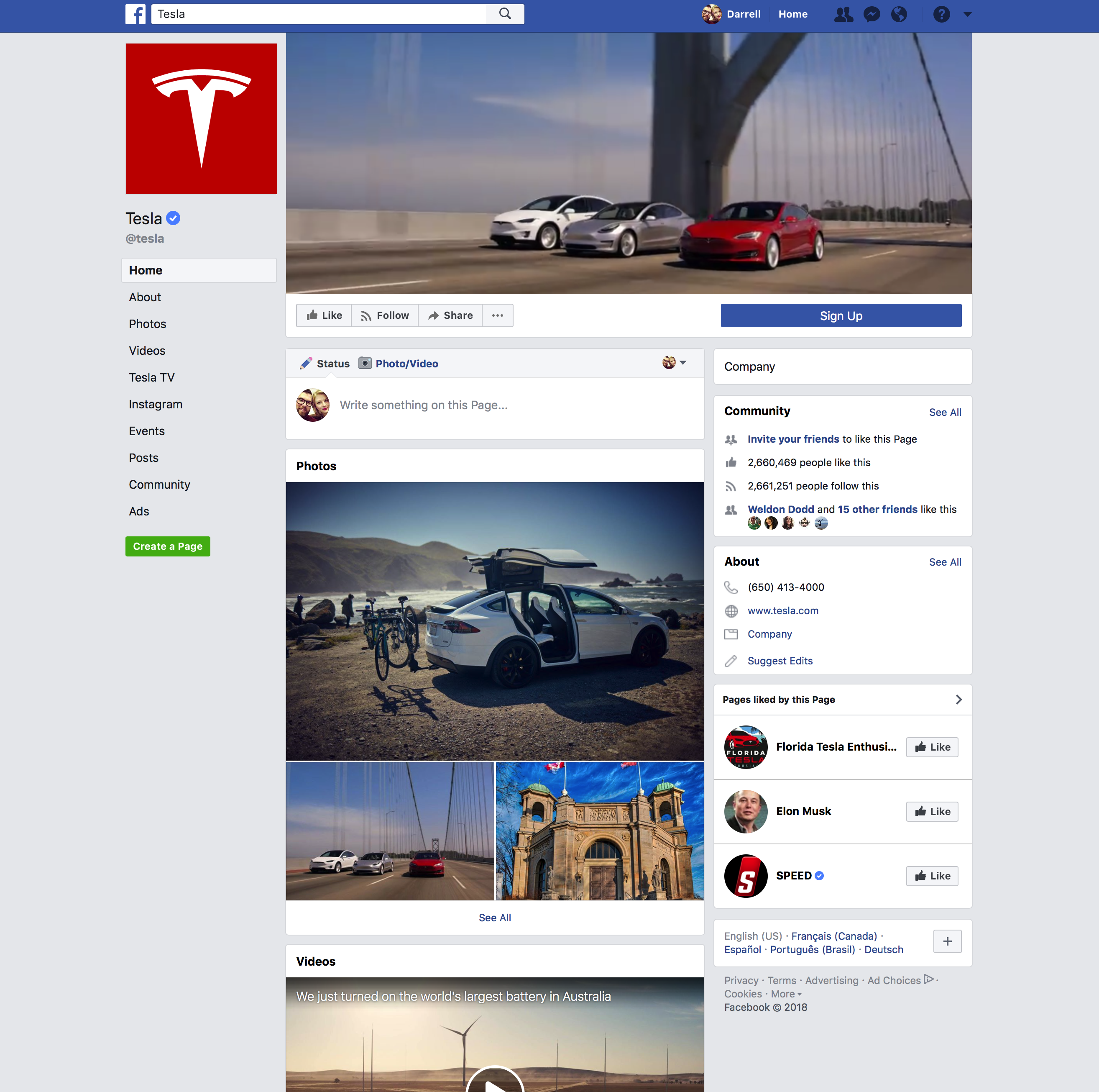 Elon Musk deletes own, SpaceX and Tesla Facebook pages after
