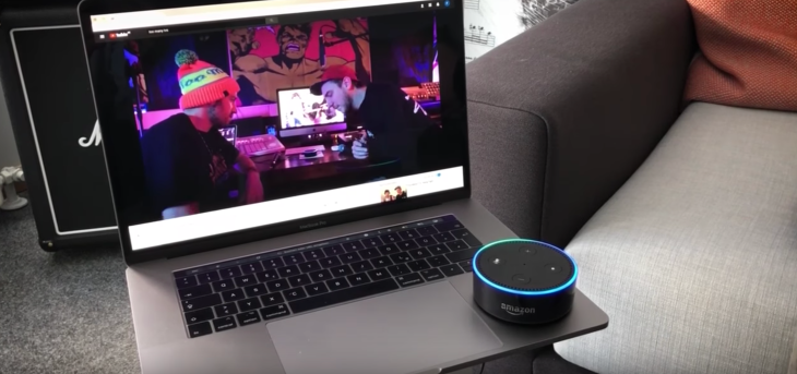 Watch Alexa rap with Too Many T's in this interactive music video