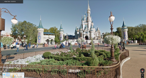 Street view techcrunch now you can visit disney parks in the us through google street view gumiabroncs Image collections
