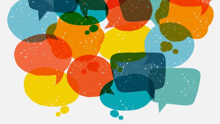 Speech thought balloons