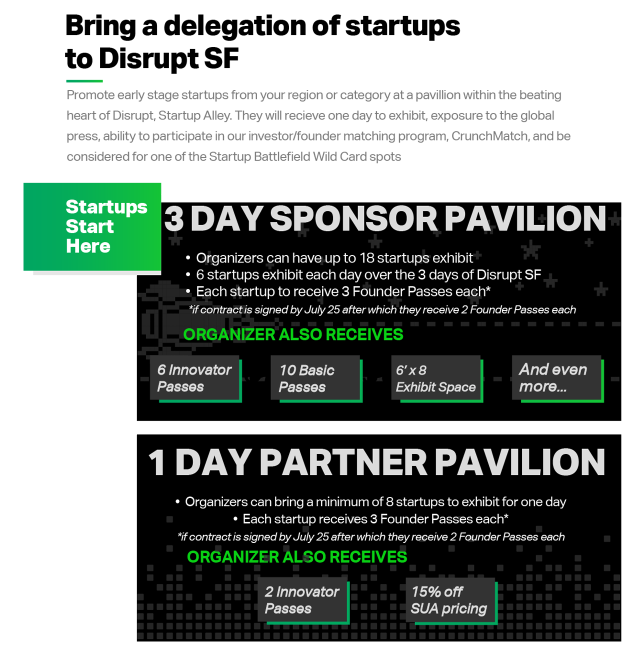 Showcase your country's startups at Disrupt SF