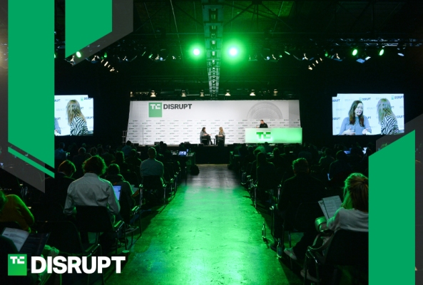Early-bird prices for Disrupt SF 2018 end in just four days tc disrupt postgraphic centerstageb