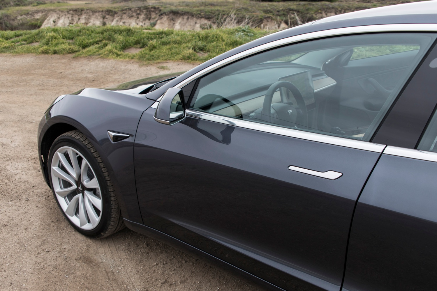 The Tesla Model 3 is a love letter to the road | TechCrunch
