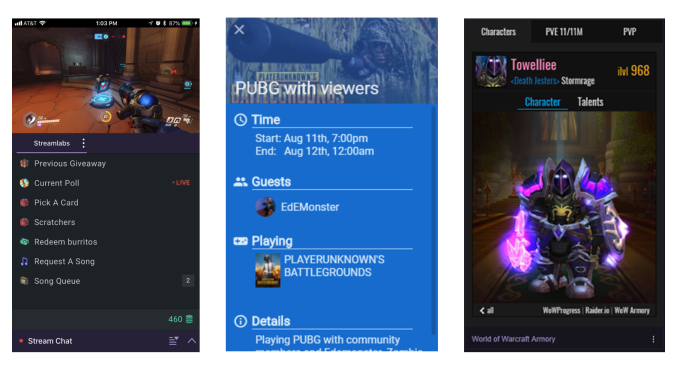Twitch's extensions come to mobile | TechCrunch