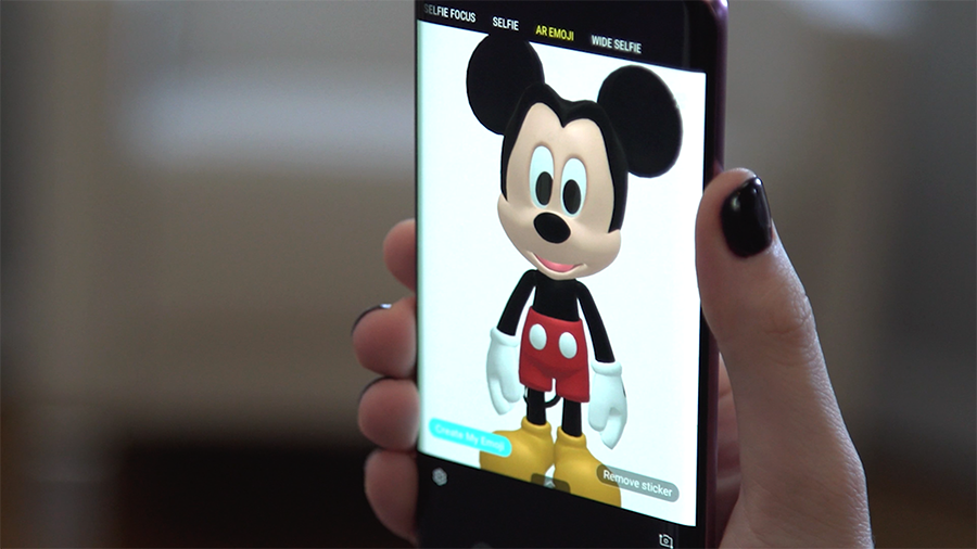 Samsung's Galaxy S9 gets Disney AR Emojis at launch