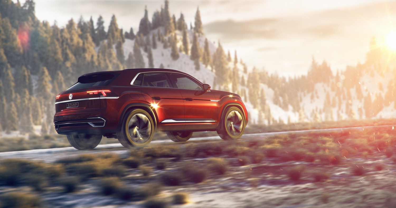 Vw Atlas Cross Sport Concept Shows Hybrids Have An Exciting