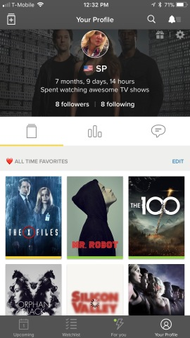 TV Time, the TV tracking app with over a million daily users, can
