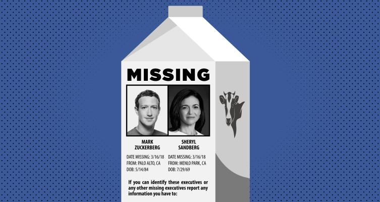 Zuck and Sandberg go M.I.A. as Congress summons Facebook leadership by name