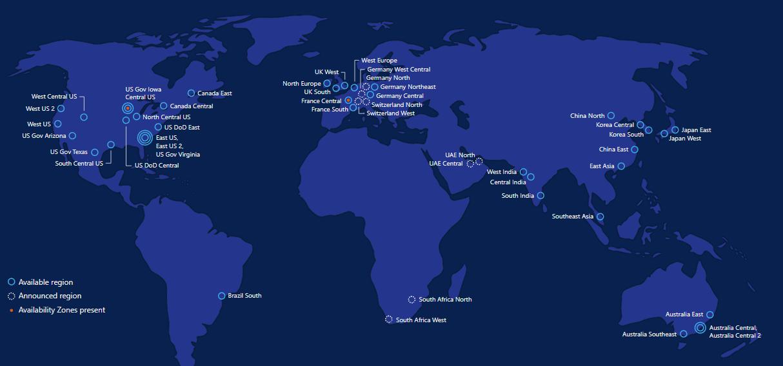 Map Of North East Australia.Microsoft Launches 2 New Azure Regions In Australia Techcrunch
