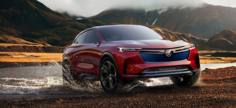 Buick Unveils An All Electric Suv Concept And It S Exactly What Gm Needs Techcrunch