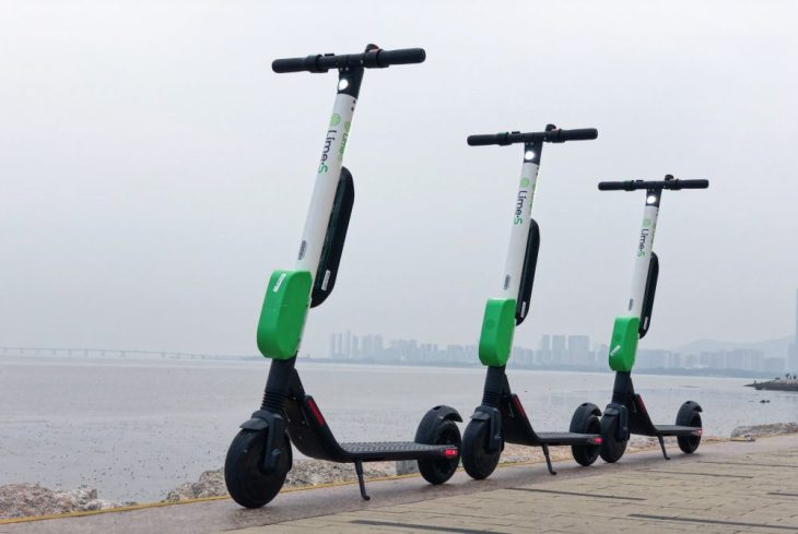 Lime Segway Scooter