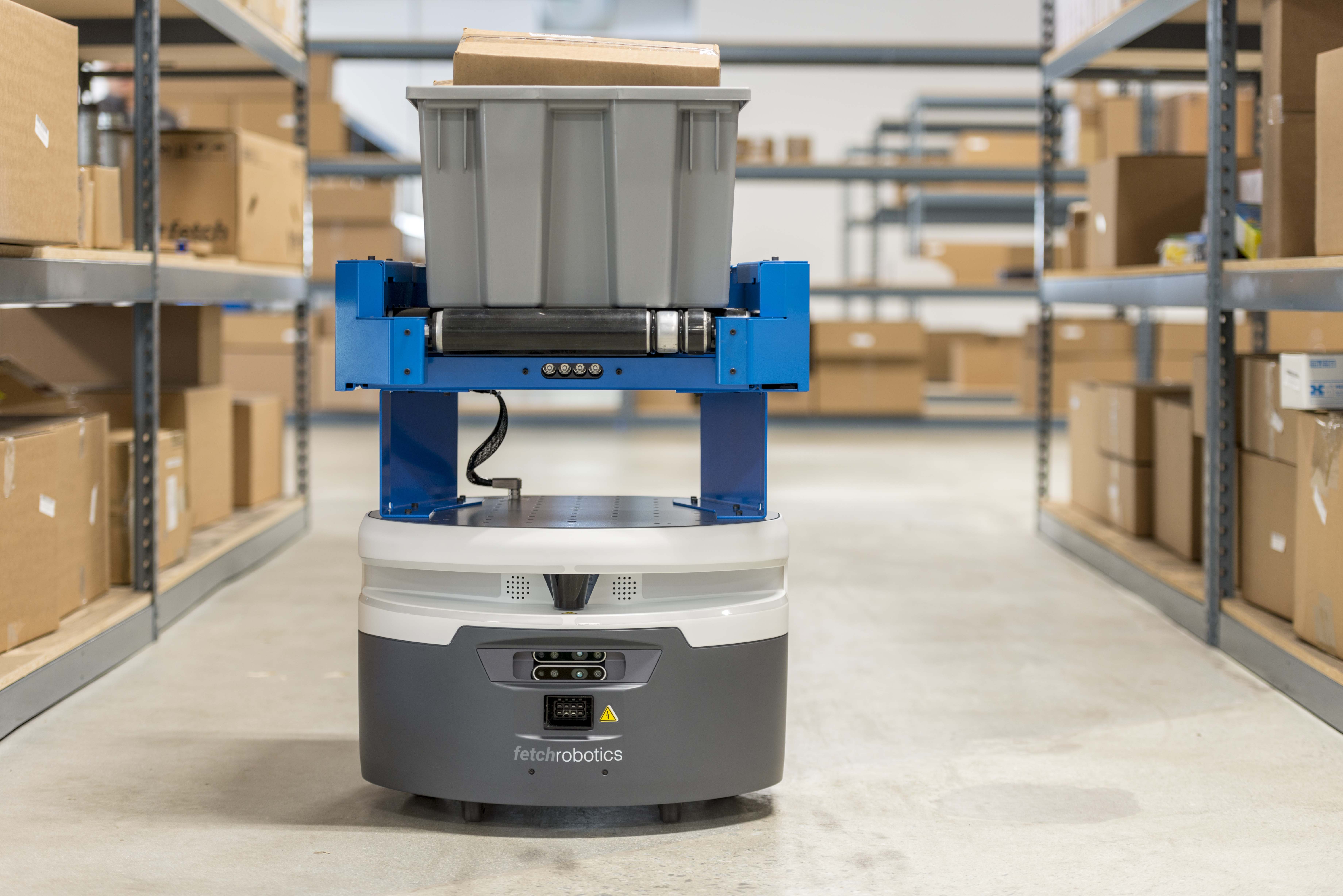 Fetch adds two new robots to its warehouse automation army   TechCrunch