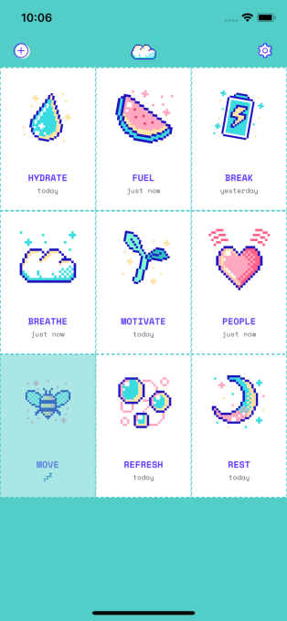 Aloe Bud is the adorable self-care app you've been waiting for