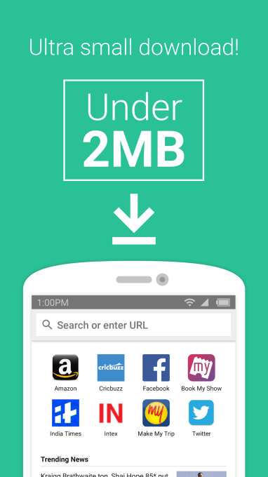 Amazon launches a 'lite' Android web browser app in India | TechCrunch