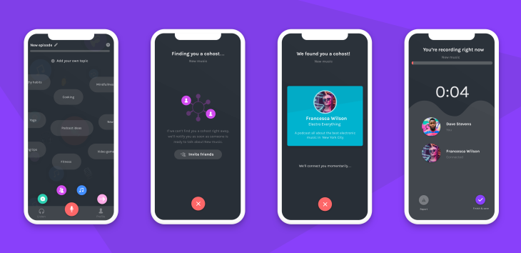 Podcasting app Anchor can now find you a cohost | TechCrunch