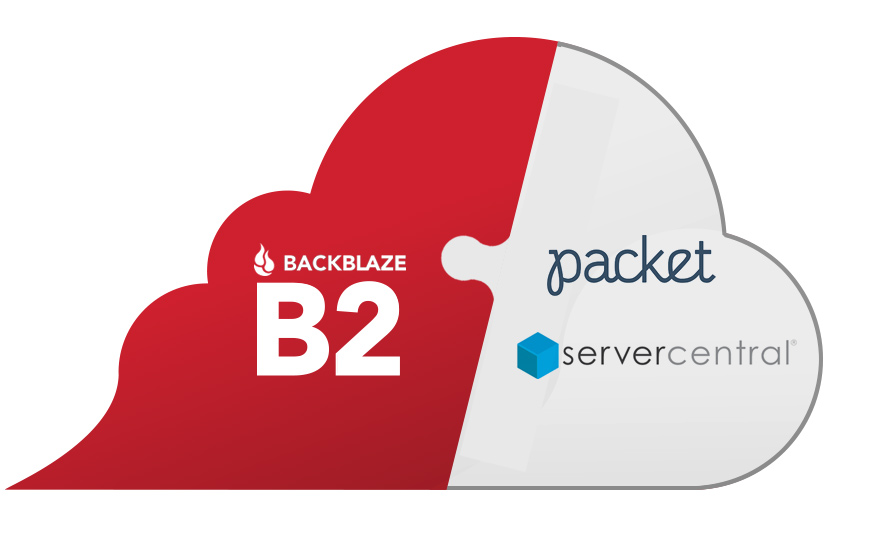 Backblaze partners with Packet and Server Central to better challenge the big clouds